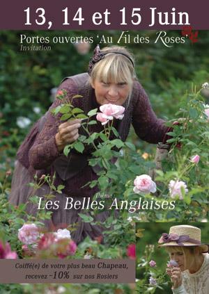 Portes Ouvertes 'Au Fil des Roses' 2014