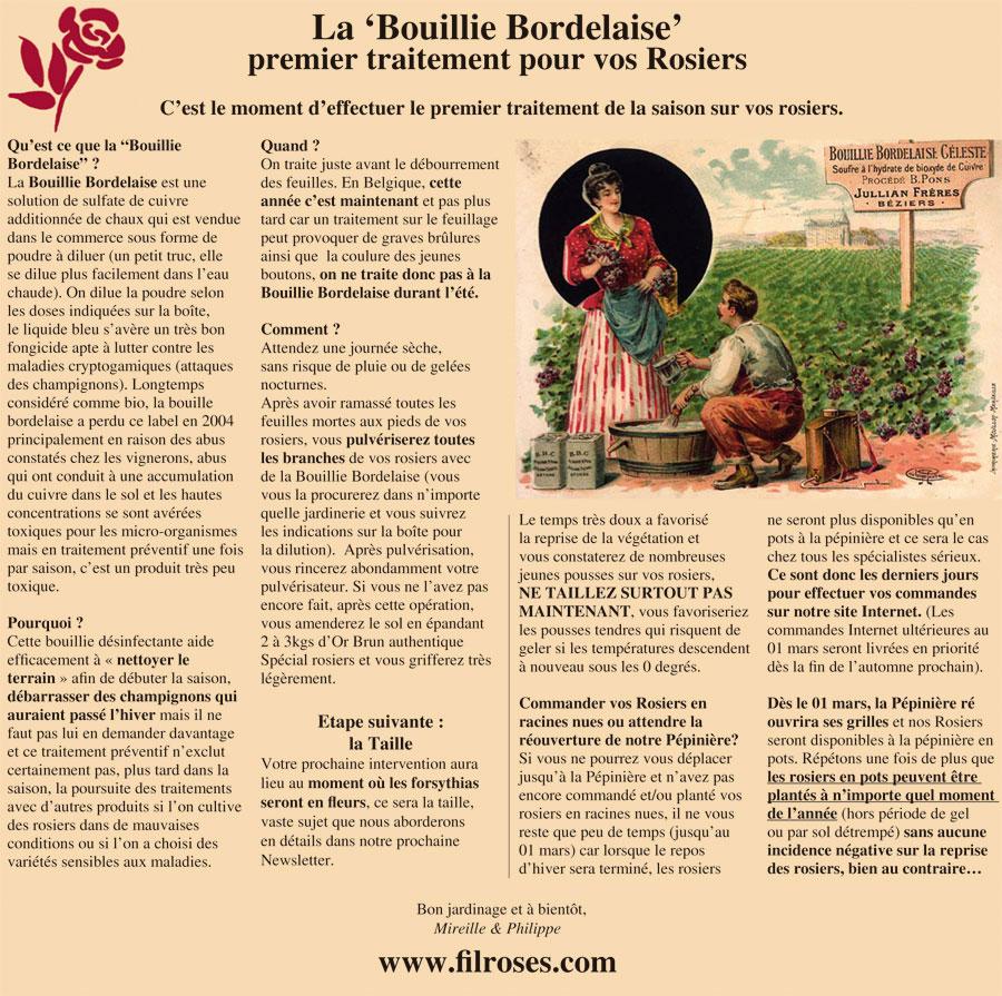 Bouillie bordelaise rosier latest comment reconnatre un odium du rosier with bouillie - Traitement cerisier bouillie bordelaise ...